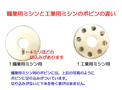 ボビン(職業用ミシン用)寸法直径21*幅9mm【ヤマト・メール便での発送OK】