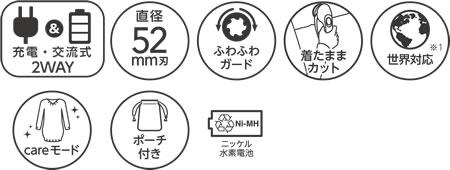 《送料区分1》イズミ毛玉取り器フルスペックモデルKC-NW79-R[ワインレッド]【ラッキーシール対応】