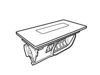 《送料区分4》パナソニック 洗濯機 乾燥フィルター(ノーブルシャンパン)AXW2XM9DA0【ラッキーシール対応】