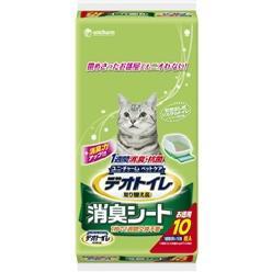 【月間特売】ユニチャーム 1週間消臭・抗菌デオトイレ 取りかえ専用 消臭シート 10枚