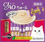 いなば CIAOちゅ〜る かつお ほたてミックス味 20本入り(14gx20本) SC-192