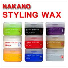 ナカノ スタイリング ワックス 90g人気のナカノのスタイリングワックスです。ご希望のタイプ...