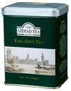 AHMAD TEA(アーマッドティー) アールグレイ 200g リーフ 缶入り / 紅茶 フレーバード ストレート ミルクティー