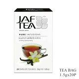 JAF TEA ジャフティー バーボンバニラ&ルイボス ティーバッグ 1.5g×20TB 紅茶 フレーバー スリランカ