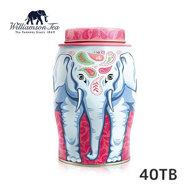 象の絵の描かれた缶入り紅茶茶葉