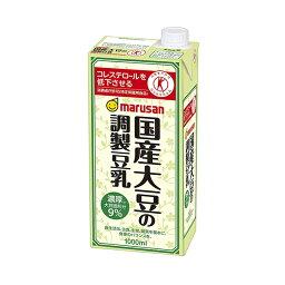 マルサン 国産大豆の調製豆乳 1L