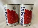 【輸入FOOD】ラ・プレッツィオーザ La Preziosa ダイストマト 2缶セット