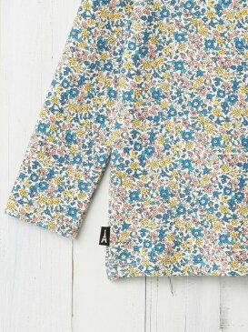 【ポイント5倍】【ベビー】【Studio mini】花柄ハイネックTシャツ【ベビー 赤ちゃん ベビー服 女の子 おんなのこ ウェア ウエア トップス】