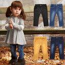 【ベビー】 【ampersand】デニムニットレギンス 【ベビー 赤ちゃん ベビー服 ベビーウェア 男の子 女の子 おとこのこ おんなのこ ズボン ずぼん ボトム ズボン】
