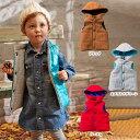 【除菌水プレゼント 4/13まで】【ベビー】 【F.O.KIDS】リバーシブルベスト 【ベビー 赤ちゃん ベビー服 男の子 女の子 おとこのこ おんなのこ ウェア ウエア はおりもの アウター トップス】