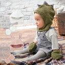 【ベビー】 【moc mof】アニマル帽子&ミトンセット 【ニット ニット帽 帽子 ぼうし ハット ベビー 赤ちゃん 女の子 男の子 おんなのこ おとこのこ】