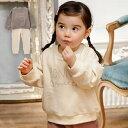 【10%OFFクーポン対象商品】パジャマ【Ampersand】ロゴ刺繍ワンマイル上下セット| 男の子 女の子 ベビー服 新生児 赤ちゃん服 ベビーウエア 服