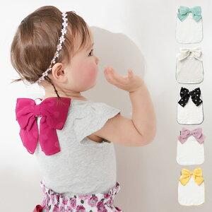 【mocmof】リボン付汗取りパッド 汗 吸収 蒸れ防止 赤ちゃん 男の子 女の子