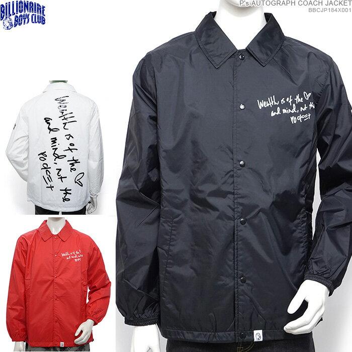 メンズファッション, コート・ジャケット  SALEBILLIONAIRE BOYS CLUB Ps AUTOGRAPH COACH JACKET BBC