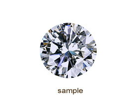 H&Cダイヤモンドルース0.436ctE-SI1-3EX-H&C(中央宝石研究所鑑定書付)