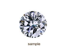 ダイヤモンドルース0.786ctD-VS2-3EX-H&C(AGT鑑定書付)