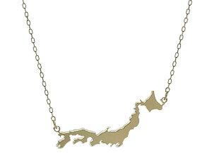 Love for JAPAN [●] K18日本列島ネックレス
