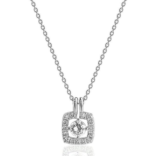 【24日まで!3つ目(1番安い商品)半額セール♪(ご注文確認後金額修正)】Pt900/Pt850プラチナダイヤモンドプチネックレス空枠(0.2〜0.3ct用)ネックレス製作・リフォーム:アンジェラ(宝石の卸屋さん)