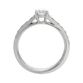 【12,000円以上お買い物でゴディバのチョコプレゼント♪】Pt900プラチナダイヤモンドリング(0.30ctG-SI2-Gup)鑑定書付