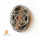 ミニオルゴナイト 六芒星 ダビデの星 モリオン 黒水晶 cm1020hexmol00032 定形外郵便可 ギフト 贈り物 プレゼント