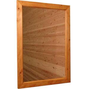 ナチュラル◇木製ナチュラルミラー◇鏡◇(45×60cm)