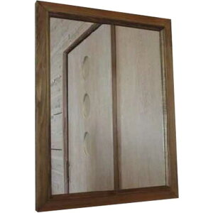 ひのきのナチュラル木製ミラー(特大)◇50×60センチ◇鏡