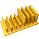 タブレットスタンドナチュラル15×30×12.5cm7台収納木製ひのきハンドメイドオーダーメイド
