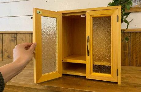 ペット仏壇ナチュラルフローラガラス扉受注製作