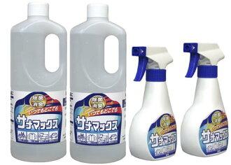 Sana antibacterial deodorant Max 1 liter x 2 ( 300 ml refill spray bottle 2 w)