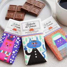 ル・ショコラ・デ・フランセ/タブレットチョコレート 3個セット/Le chocolat des francais