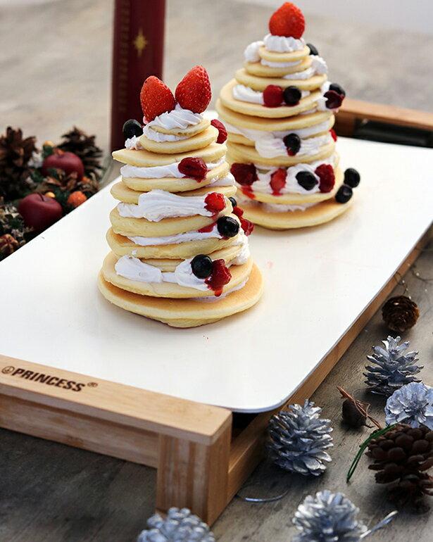 ホットケーキミックスで作る簡単パンケーキツリー