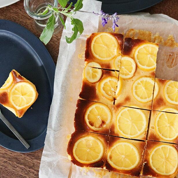 手作りヨーグルトで作る「ベイクドチーズケーキ」