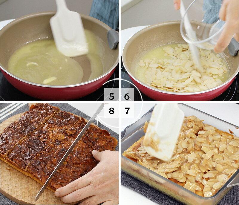 ホットケーキミックスで作る「フロランタン風ケーキ」レシピ