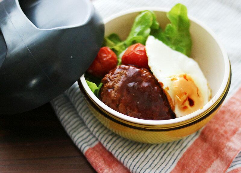 キャリーランチボウルで作るロコモコ丼弁当