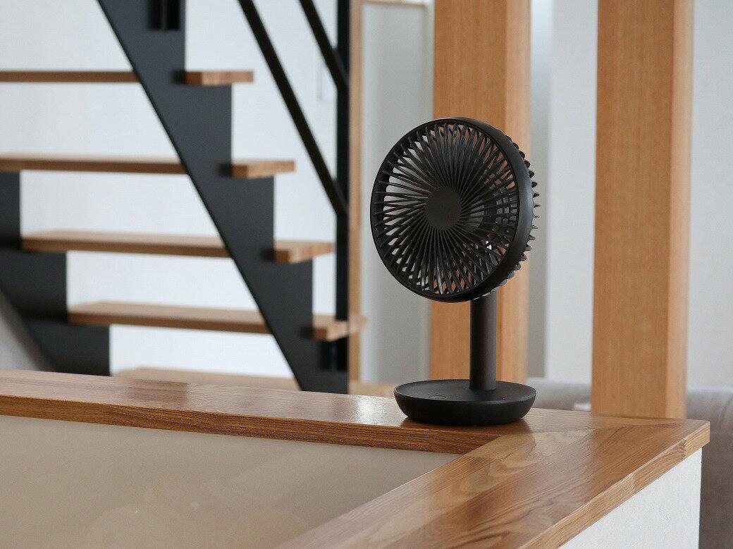 小回りの効く扇風機「ルーメナー」で、お家で過ごす夏も快適に。