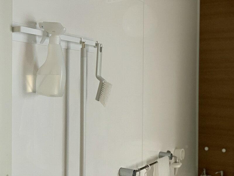 失敗のないバスルーム収納用品。選んだのはtowerのマグネットバスルームタオルハンガーワイド!