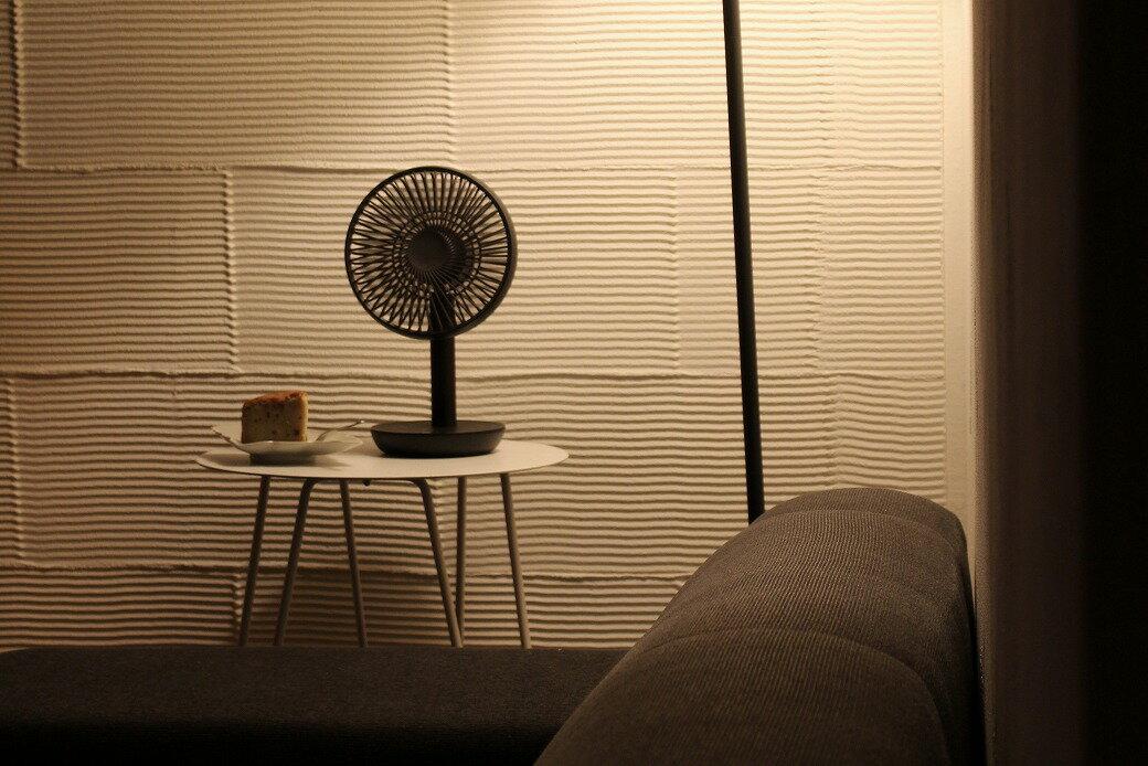 暑さが続いたGWから今年も活躍中!ルーメナー扇風機。