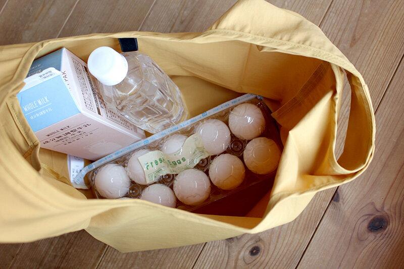 【レジ袋有料化】これからの買い物の必需品、お惣菜がズレにくいエコバッグ