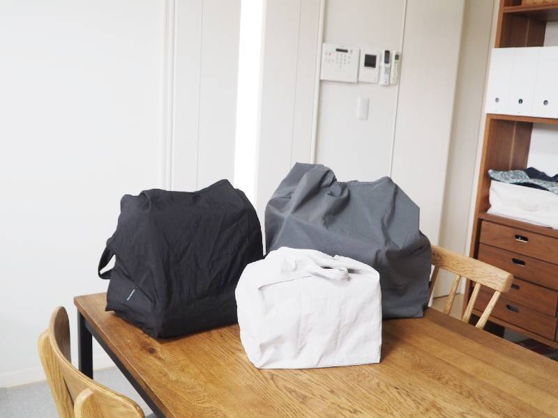 bon moment(ボンモマン)のエコバッグ、どう使い分ける?わが家での使い分けレポ