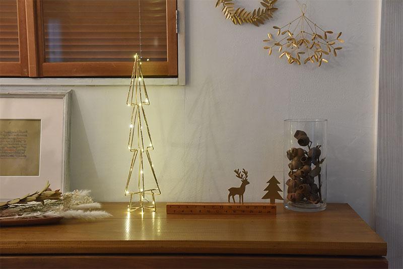 クリスマスシーズン到来!マットゴールドで彩る大人のクリスマス特集