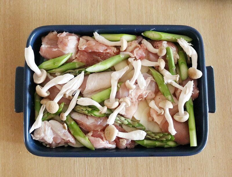 魚焼きグリルで簡単!グリラーで作る「チキンの濃厚ポテトグラタン」