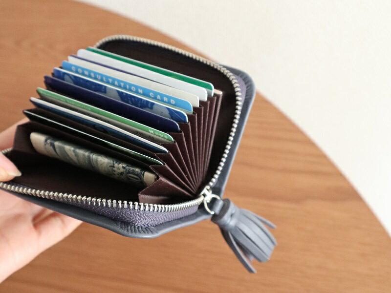 お財布事情スッキリ解決!?収納力抜群「アグレアーブルのカードケース」をスタッフが試してみました