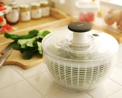 キッチン/キッチン雑貨/サラダスピナー OXO(オクソー) クリアサラダスピナーS