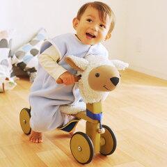 ベビーキッズ/乗り物/おもちゃ/三輪車/手押し車 /アンジェヒツジの三輪車 〜ラムドライブ〜 ...