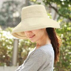 ファッション/帽子/ハット/紫外線防止/UPF50/リネン /アンジェ【涼しい麻モデル】 スカラ 女...