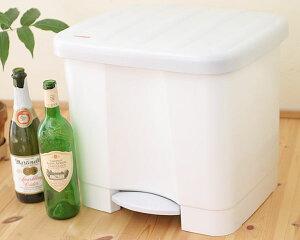 技ありゴミ箱でゴミの分別の手間をカット /アンジェLEIFHEIT ウェイストボックス ホワイト