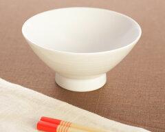 食器/白磁/磁器/茶碗/飯碗 白山陶器 ミストホワイト 飯碗