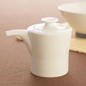 食器/白磁/磁器/醤油差し/調味料入れ 白山陶器 ミストホワイト しょうゆさし