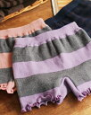 あったかインナー/寒さ対策/毛糸パンツ/遠赤外線 /アンジェ遠赤外線 毛糸パンツ 一分丈