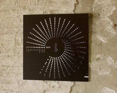 カレンダー/ステーショナリー/文具/新年 /アンジェ2012 カレンダー PHASES OF THE MOON(...
